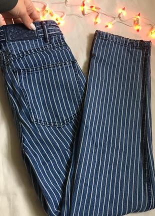 Штаны брюки джинсы  pull&bear1