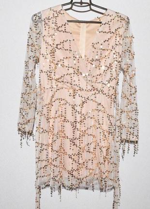 Идеальное платье в пайетки1