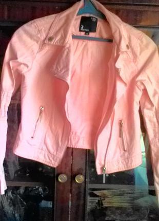 Куртка-косуха-ветровка под джинс1