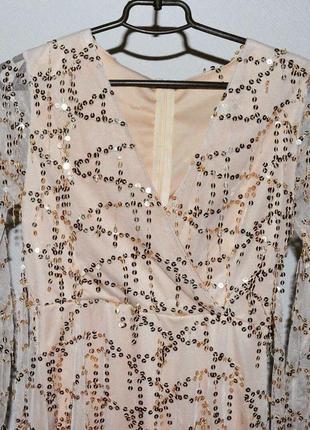 Идеальное платье в пайетки2