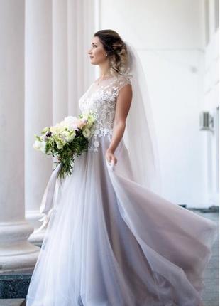 Красивое свадебное платье1