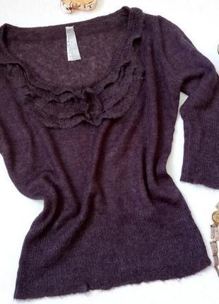 Джемпер пуловер италия шерсть