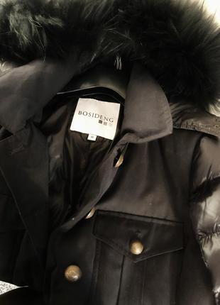 Шикарная итальянская курточка-парка bosideng, оригинал3