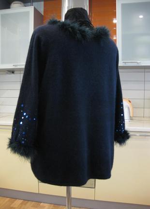 Яркий теплый, уютный свитерок для роскошной фигурки!3