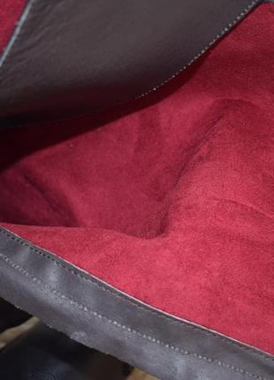 Шикарные кожаные ботильоны р.41 испания сапожки 26,5 см5