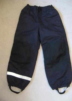 Термо штаны с флисовой попой h&m 122р 6-7л