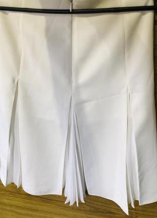 Юбка белая женская2