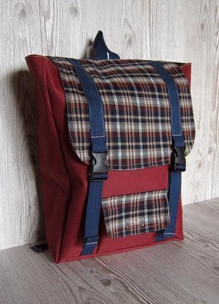 Рюкзак ручной работы с мягким отделением для ноутбука