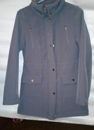 Термо куртка (плащ) софтшелл. softshell1