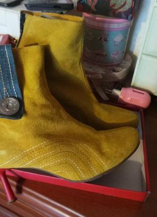 Ботинки сапожки miss sixty 38 размер италия оригинал1