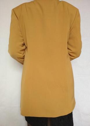 Шикарный роскошный удлиненный пиджак жакет,шалевый ворот, пуговицы, качество,стиль, италия3