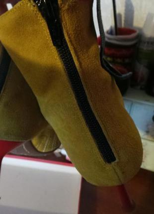 Ботинки сапожки miss sixty 38 размер италия оригинал3