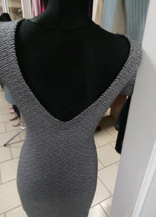 Платье прямое трикотажное2
