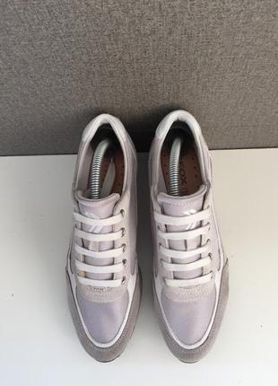 Жіночі черевики geox женские ботинки кроссовки на платформе3