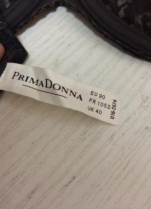 Бюстгальтер мягкая чашка с шикарной вышивкой prima donna 90d5