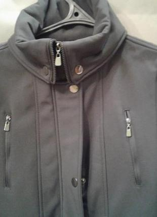 Термо куртка (плащ) софтшелл. softshell5