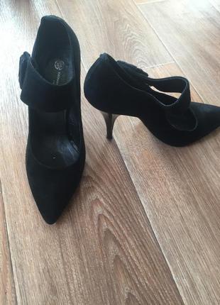 Туфли замшевые2