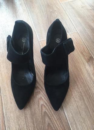 Туфли замшевые3