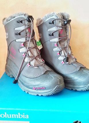 Columbia bugaboot зимние ботинки 38 размер 7 us стелька 25 waterproof1