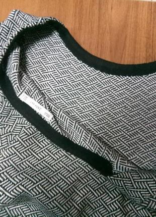 Платье прямое трикотажное4