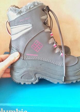Columbia bugaboot зимние ботинки 38 размер 7 us стелька 25 waterproof2