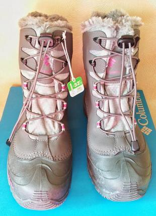 Columbia bugaboot зимние ботинки 38 размер 7 us стелька 25 waterproof3