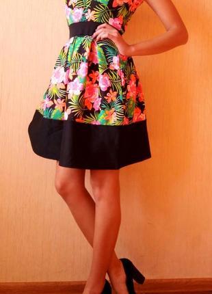 Распродажа летних вещей!!!! очень красивое яркое платье от miss look3