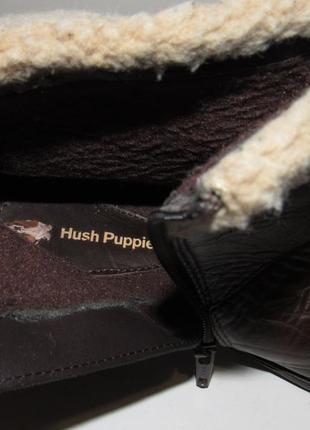 Hush puppies_португалия кожа комфортные утепленные женские ботинки 38р ст.24,5см m202