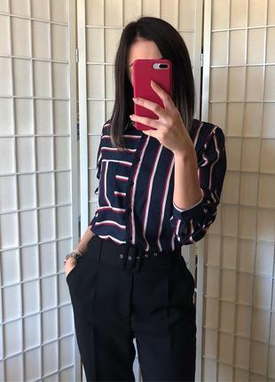 Блуза в стильную полоску2