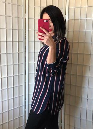 Блуза в стильную полоску3