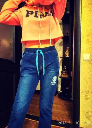Шикарные джинсы бойфренд стрейч польша с удобной посадкой  xs- s3