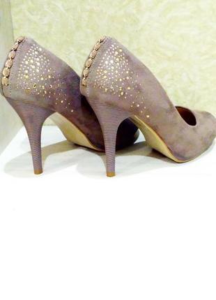 Замшевые туфли1