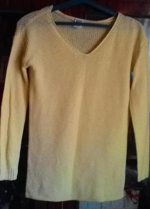 Лёгкий свитер джемпер-vero moda1