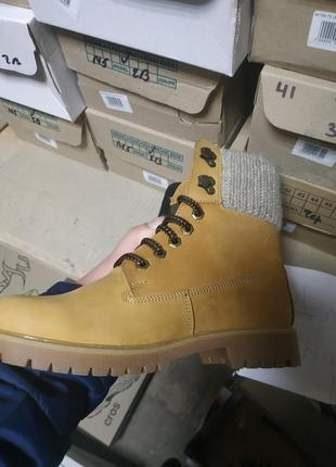 Женские зимние ботинки4