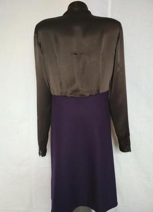 Эксклюзив, роскошное дизайнерское платье, шёлк, шерсть,moschino2