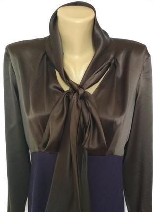 Эксклюзив, роскошное дизайнерское платье, шёлк, шерсть,moschino3