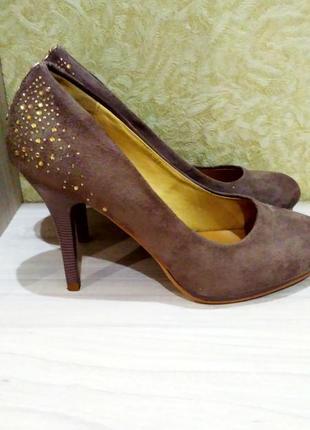 Замшевые туфли2