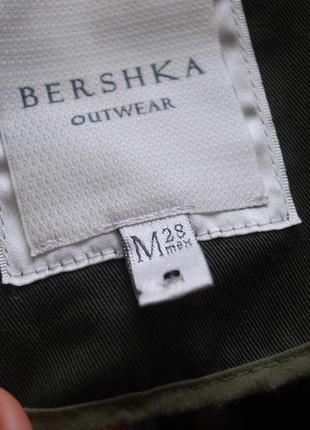 Тренч bershka4
