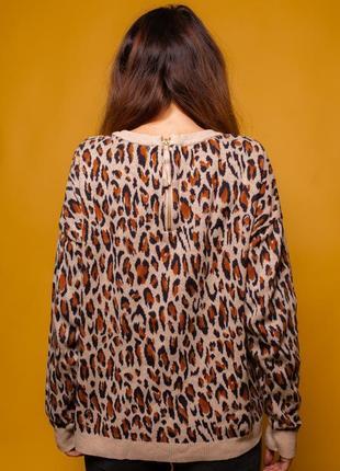 Джемпер леопардовый от h&m тренд сезона2