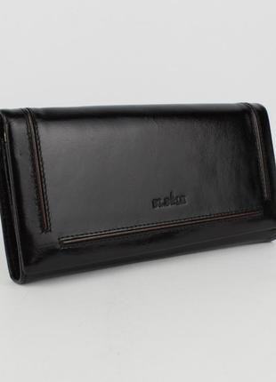 Кошелек женский кожаный bl balii 10-588-1 черный, монетница внутри1