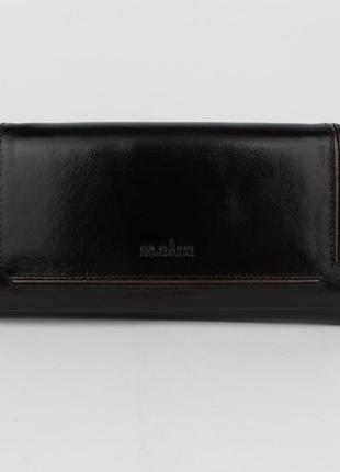 Кошелек женский кожаный bl balii 10-588-1 черный, монетница внутри2