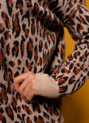 Джемпер леопардовый от h&m тренд сезона3