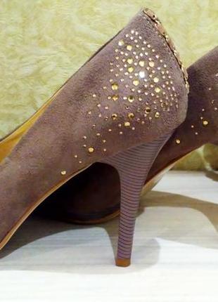 Замшевые туфли4