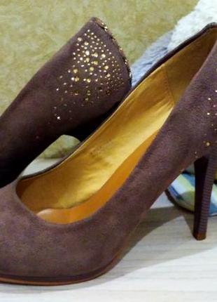 Замшевые туфли5