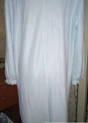Домашнее платье ,ночная рубашка,сорочка с длинным рукавом 14/164