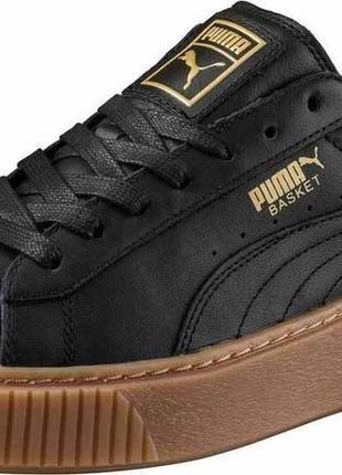 Шкіряні кросівки puma basket 23см оригінал