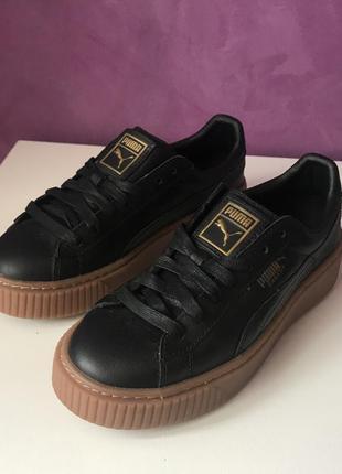 Шкіряні кросівки puma basket 23см оригінал2