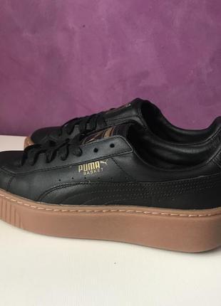 Шкіряні кросівки puma basket 23см оригінал3