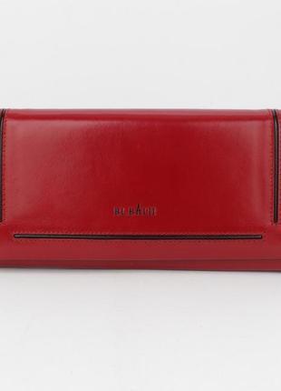Кошелек женский кожаный bl balii 10-588-5 красный, монетница внутри2