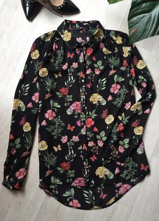 Шикарная блуза цветочный принт🌸2